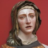 """Our Lady of Sorrows"" by Pedro Roldan, Sevilla, Spain, c. 1670. In the Bode Museum in Berlin."