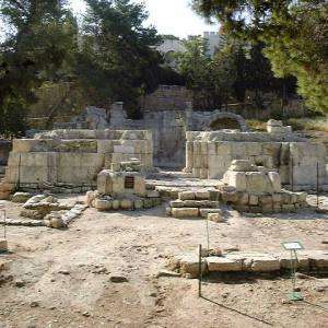 Ruins of a Byzantine church in Emmaus Nicopolis, where Africanus may have taken up residence later in his life.