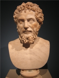 Bust of Septimius Severus from the Altes Museum in Berlin.