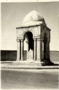 Tomb of the Girl in an undated photograph.