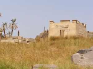 Temple of Khnum at Elephantine - later Ptolemaic & Roman remains.