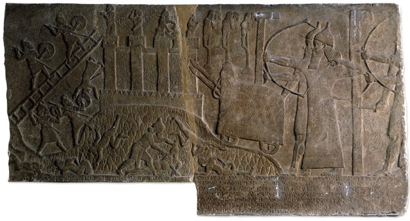 Relief from the Central Palace of Tiglath-Pileser III from Nimrud, in the British Museum. Photo from the British Museum.