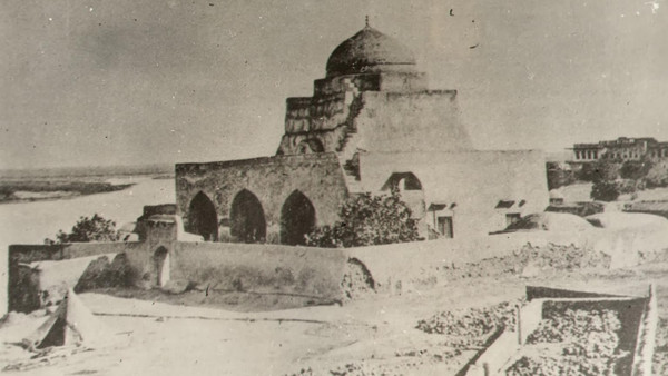 Undated photo of al-Khidr Mosque. (source)