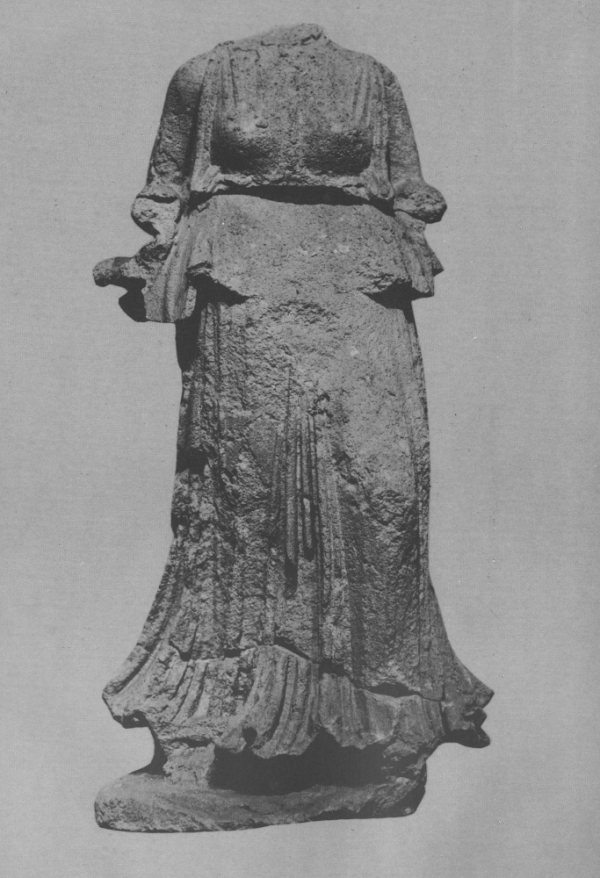 Statue of Nike, Greek goddess of victory. Safar and Mustafa, Hatra: The City of the Sun God, pl. 102 p. 125.