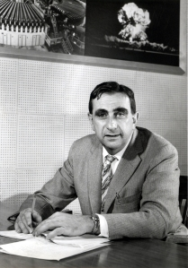 "Teller at Lawrence Livermore National Laboratory in 1958. He once said of his role in developing the hydrogen bomb: ""At the end of the war, most people wanted to stop...But I was the one person who put knowledge, and the availability of knowledge, above everything else."" (source: picture/quote)"