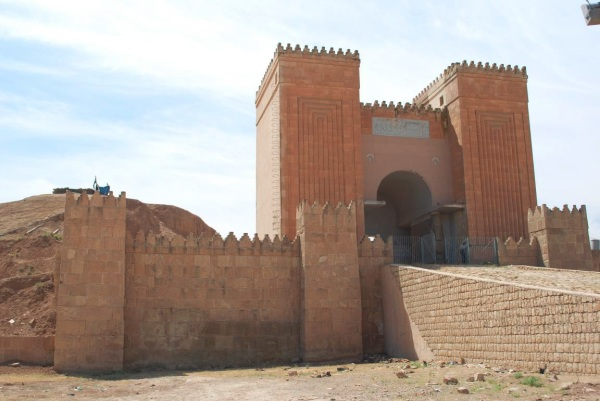 The Nergal Gate as seen in 2006. (Photo by Diane Siebrandt/U.S. State Department)